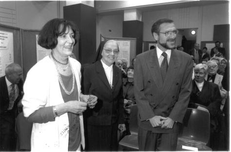 2_Marthe Sibille, SNDdeN, et Nora Schlusselberg en 1995