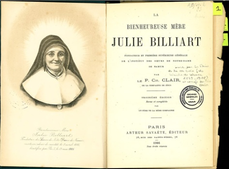 English | Ste Julie Billiart